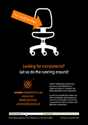 Looking for components?  Let us do the running around!